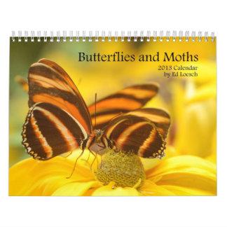 Calendario 2013 - mariposas y polillas