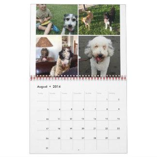 Calendario 2014-2015 de Sheepadoodle