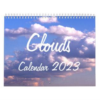 Calendario 2014 con las nubes
