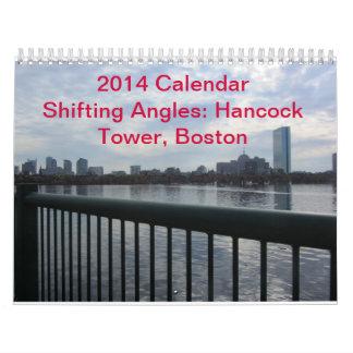 Calendario 2014 de Boston