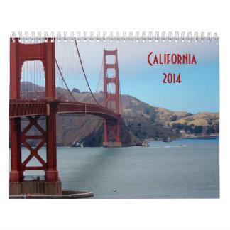 Calendario 2014 de California del PREMIO de ZAZZLE