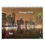 Calendario 2014 de Chicago