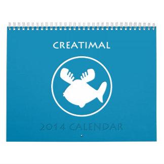 Calendario 2014 de Creatimal
