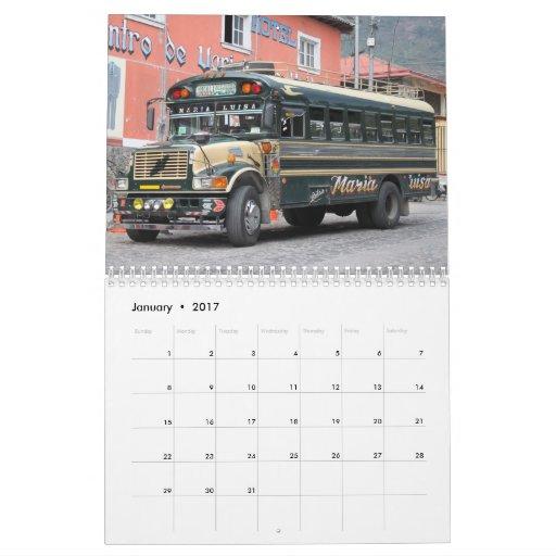 Calendario 2014 de Guatemala