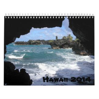 Calendario 2014 de Hawaii