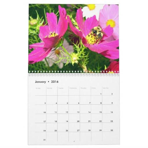 Calendario 2014 de la abeja