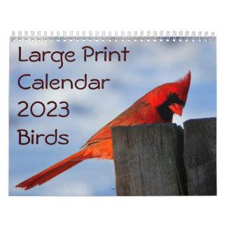 Calendario 2014 de la ampliación de foto - pájaros