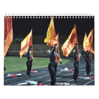 Calendario 2014 de la banda del HS del Tuscarora