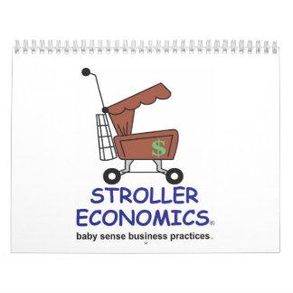 Calendario 2014 de la economía del cochecito