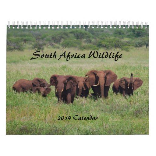 Calendario 2014 de la fauna