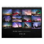 Calendario 2014 de la foto de Knate Myers