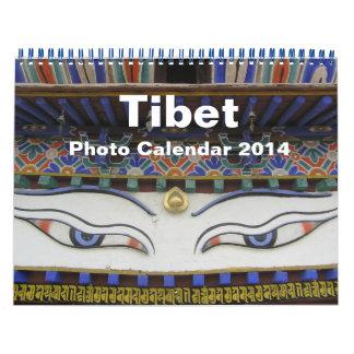 Calendario 2014 de la foto de Tíbet