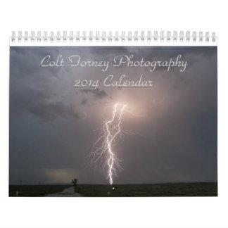 Calendario 2014 de la fotografía de Forney del pot