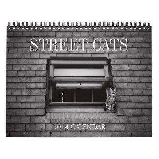 Calendario 2014 de la fotografía de los gatos de l
