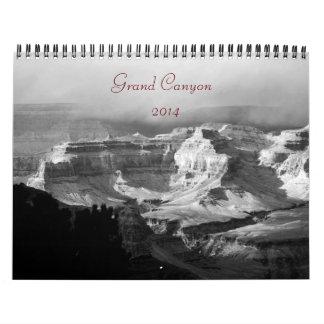 Calendario 2014 de la fotografía del Gran Cañón