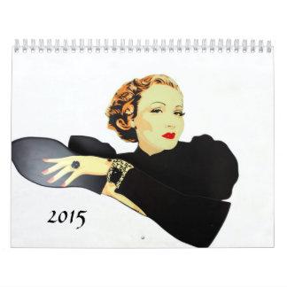 calendario 2014 de la fotografía del vintage
