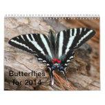 Calendario 2014 de la mariposa