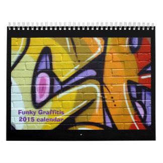 Calendario 2014 de la pintada del PREMIO de ZAZZLE