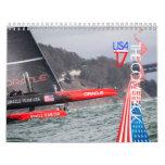 Calendario 2014 de la taza de 34ta América