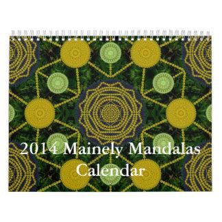 Calendario 2014 de las mandalas de Mainely