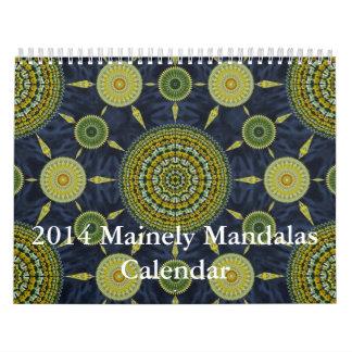 Calendario 2014 de las mandalas de Mainely 3