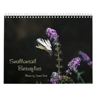 Calendario 2014 de las mariposas de Swallowtail