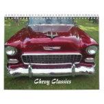Calendario 2014 de las obras clásicas de Chevy