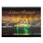 Calendario 2014 de Lisboa, Portugal