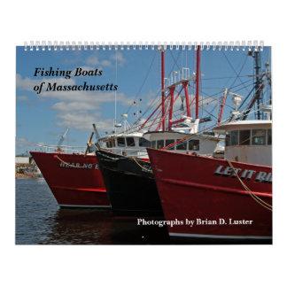 Calendario 2014 de los barcos de pesca de
