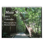 Calendario 2014 de maderas de Muir