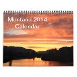 Calendario 2014 de Montana