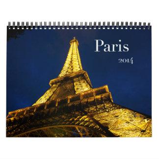Calendario 2014 de París