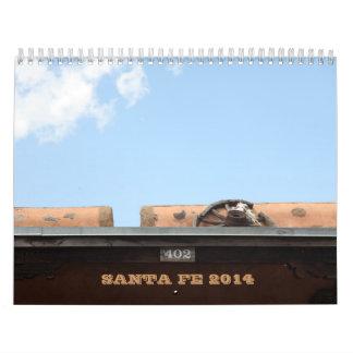 Calendario 2014 de Santa Fe