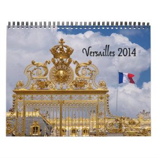 Calendario 2014 de Versalles