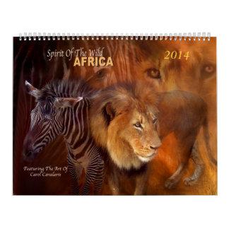 Calendario 2014 del arte de África