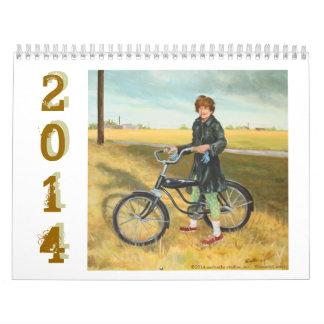 Calendario 2014 del arte de Conni Brenner