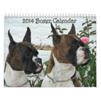 Calendario 2014 del boxeador