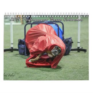 Calendario 2014 del boxeador del funcionamiento