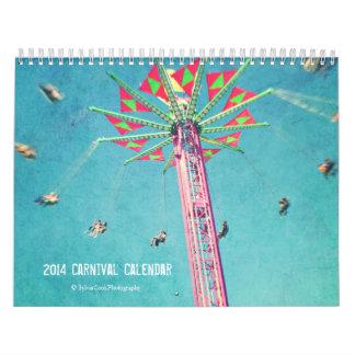 Calendario 2014 del carnaval de las imágenes de la