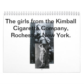 Calendario 2014 del chica de Kimbal