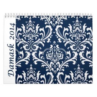 Calendario 2014 del damasco