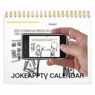 Calendario 2014 del dibujo animado del ® de JOKEAP