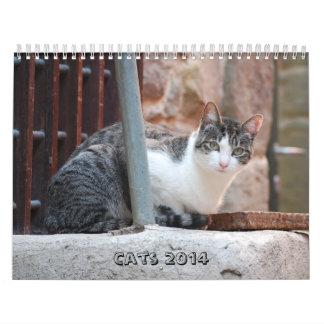 Calendario 2014 del gato