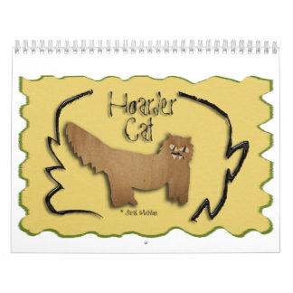 Calendario 2014 del gato del atesorador