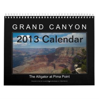 Calendario 2014 del Gran Cañón
