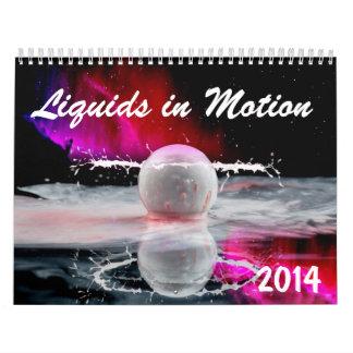 Calendario 2014 del Líquido-en-Movimiento