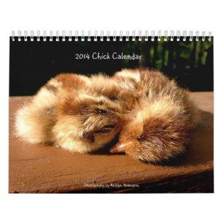 ¡Calendario 2014 del polluelo! Calendarios