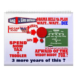 Calendario 2014 del reinado de Obama
