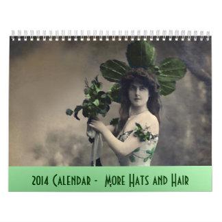 Calendario 2014 más gorras y pelo