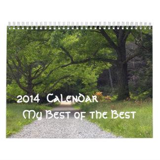 Calendario 2014 mi mejor del mejor